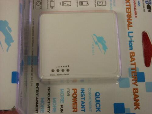 FSP USB Rechargeable 1700 mAh External Rabbit Speedy Li-ion Battery Bank New