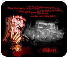 A NIGHTMARE ON ELM STREET MOUSE PAD 1/4 IN. TV HORROR MOVIE MOUSEPAD