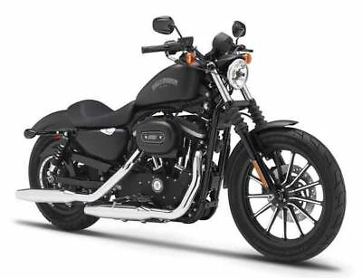 Harley Davidson Sportster Iron 883 Schwarz 2014 1//12 Maisto Modell Motorrad mi..