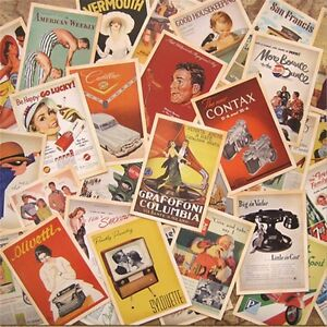 32pcs-Vintage-Postcards-Set-Lot-European-American-Photo-Poster-Retro-Cards