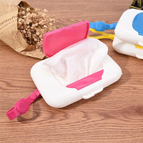Baby Travel Wipe Case Child Wet Wipes Box Changing Dispenser Storage Holder NP