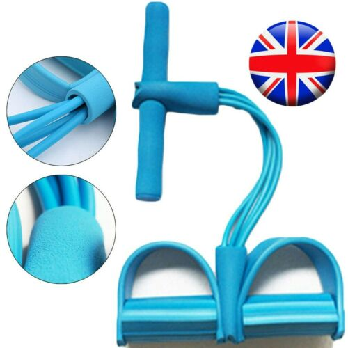 Multi-Function Tension Rope Fitness Pedal Exercise Resistance Rope Pull Home DIY