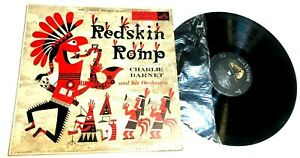 Redskin-Romp-by-Charlei-Barnet-LP-MONO-jazz-VG-1955