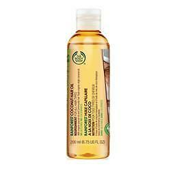 The Body Shop Rainforest Coconut Hair Oil 200ml