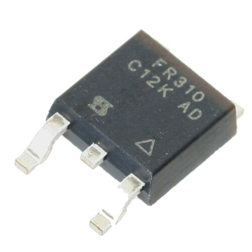 Irfr 310 transistor n-MOSFET 400v 1,7a 25w to252aa