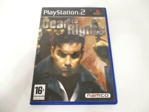 Dead-to-Rights-Playstation-2-PS2-Game-PAL-Complete-VGC-Tested