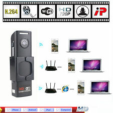 Mini Wifi IP HD 720P Wireless Camera Network Security Spy Hidden Cam DVR CCTV