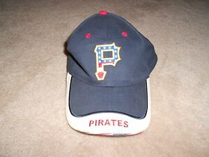 Red White And Blue Pittsburgh Pirates Baseball Hat One Size Ebay