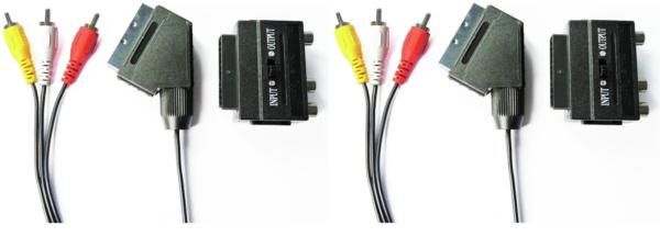 (2) X Scart Connecting Kit - E76
