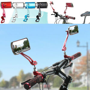 2pcs Bike Mirror Mountain Bicycle Rearview Handlebar End Rear Back View Aluminum