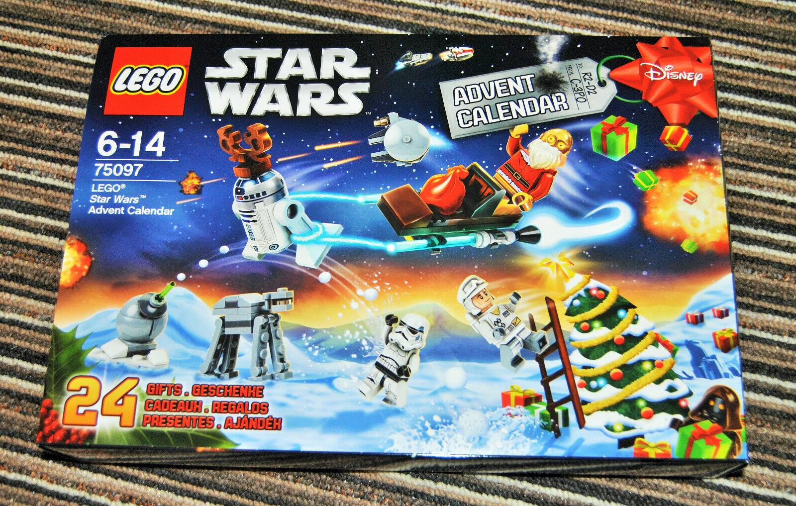 Lego Star Wars 2015 Advent Calendar. New and Sealed. 75097. Free Postage