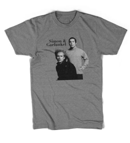 Simon /& Garfunkel 60/'s Folk Icons Unisex T-Shirt All Sizes