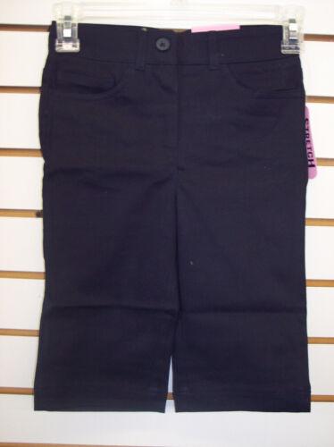 Girls IZOD Navy Uniform Stretch Skimmer Shorts $15 Size 7-10