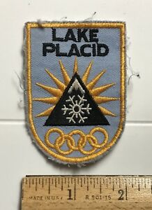 The Olympic Town of Lake Placid New York Souvenir Patch