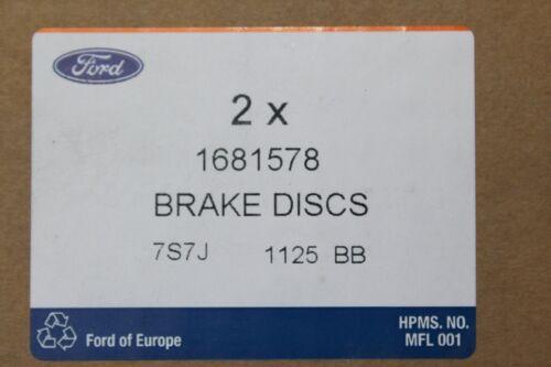 Bremsbeläge vorne Ford Mondeo MK3 1681578 Original Bremsscheiben 1783849