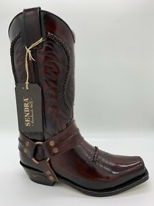 Details zu Sendra Stiefel Western Cowboystiefel Biker Boots Exklusiv & Limitiert