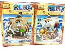 One Piece Thousand Sunny Ship Going Merry Building Blocks Anime Figure Nanoblock