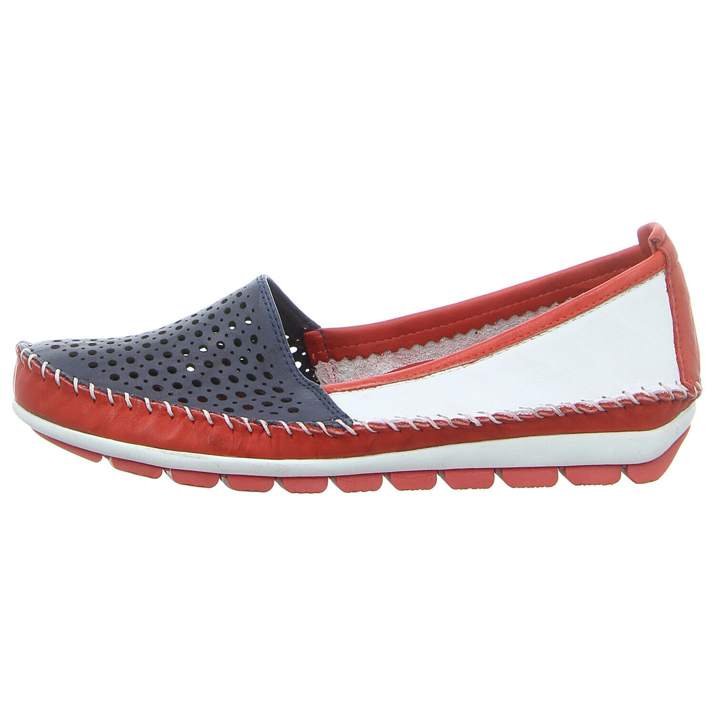 Gemini Damen Schuhe Halbschuhe Sandalen Sandaletten Neu Weiß