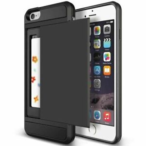 Slide-Wallet-Credit-Card-Slot-PC-Phone-Case-For-Iphone-X-XR-XS-11-Pro-Max-Armor