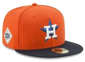 9c1f4cef5be76 Official 2017 MLB World Series Houston Astros New Era 59FIFTY Fitted ...