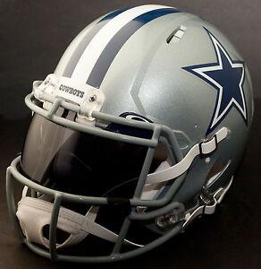 e1620846f Image is loading CUSTOM-DALLAS-COWBOYS-NFL-Riddell-Revolution-SPEED-Football -