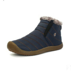 Men-039-s-Winter-Snow-Boots-Cotton-Inside-Warm-Casual-Waterproof-Shoes-Large-Size