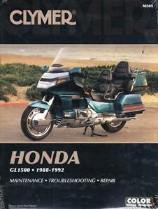 details about 1988 1992 honda goldwing gl1500 repair service orkshop shop manual book m505 Starter Circuit Wiring Diagram