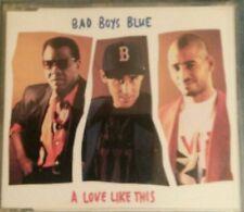 Bad Boys Blue Maxi-CD A Love Like This  3TRACKS