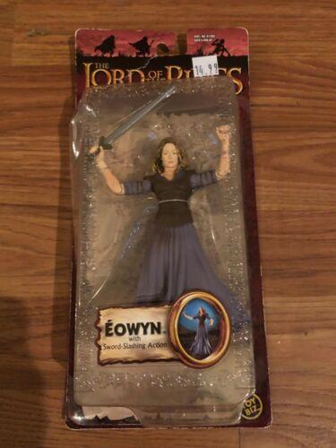 "Lord of the Rings TWO TOWERS Eowyn Sword-slashing  7/"" figure Toy Biz 2003 LOTR"