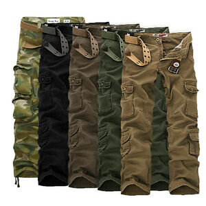 832694f2ac Image is loading Mens-Military-Combat-Trousers-Camouflage-Cargo-Camo-Army-