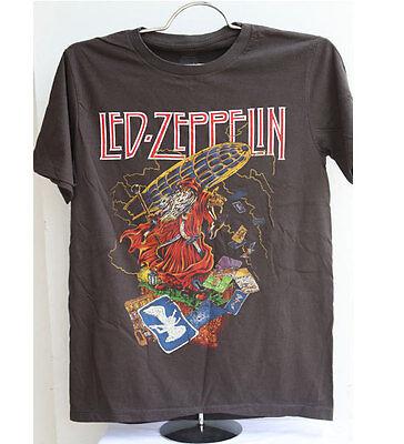 New Led Zeppelin t-shirt vintage heavy metal rock band tour black vtg size M 02