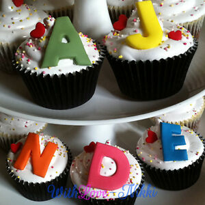 Edible Letters For Cakes Uk