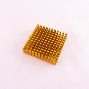 40x40x11mm 1-10W Power LED Aluminum HeatSink Cooling Radiator Supply Module
