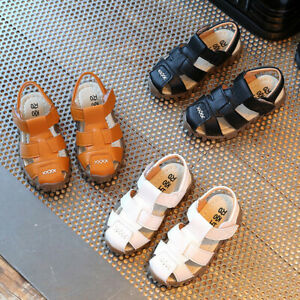 Summer-Toddler-Baby-Kid-Sneaker-Boys-Girls-Casual-Soft-Sandals-Crib-Shoes-UK