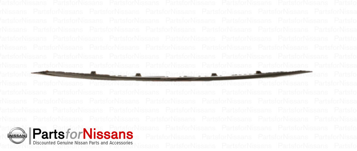 62075-5AA2A Genuine Nissan Parts Lt Lower Molding