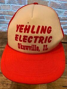 Hüte & Mützen Yehling Elektrischer Okawville Il Trucker Snapback Erwachsene Kappe Hut
