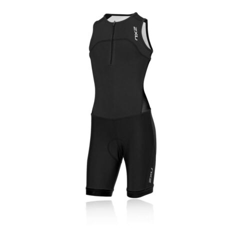 2XU Boys Active Youth Trisuit Black Sports Triathlon Breathable Lightweight