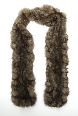 Designer Tan Genuine Mink Fur Scarf