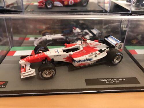 1:43 Toyota TF104B Jarno Trulli 2004 F1 Colección Fórmula Uno