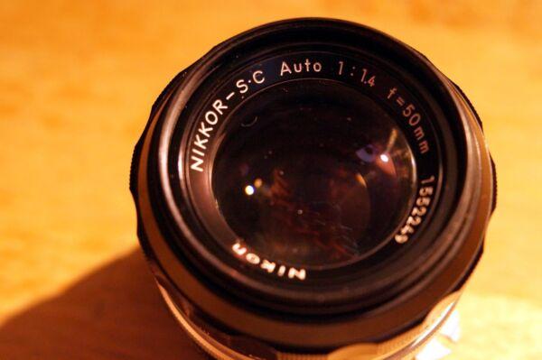 Avoir Un Esprit De Recherche Ai S _ Nikon Nikkor - S.c Auto 50 Mm _ F 1.4 _ Bokeh Pittorico _nitidezza Top