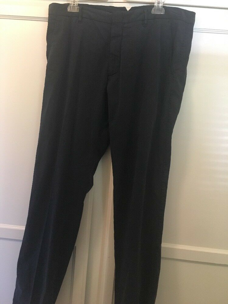 Zachary Prell Aster Stretch Pants in Navy size 38 Pre Owned