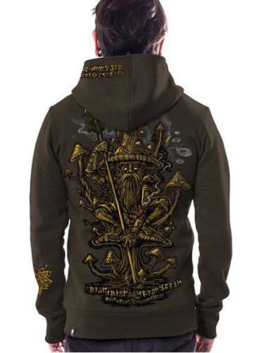 Mens Hoodie Jacket Printed Hoodie Burning Man Festival Clothing Psy Trance