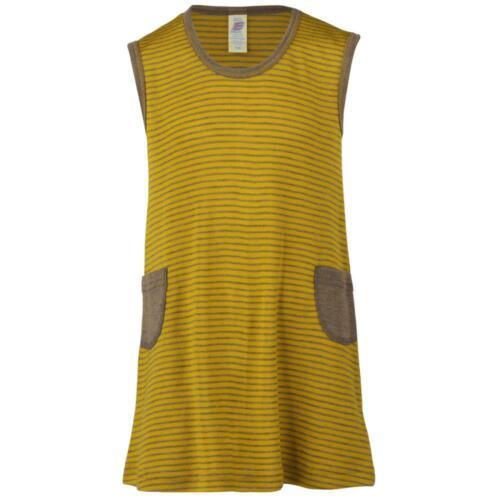 Mädchenkleid gestreift Bio-Wolle//Seide Engel Natur Baby//Kinder Kleid