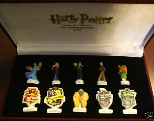 Harry Potter Porcelain Figurine Set Chamber of Secrets King's Beans Epiphany