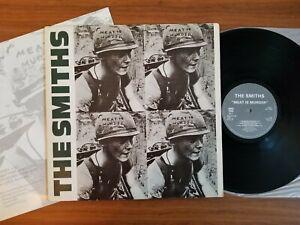 The-Smiths-Meat-Is-Murder-1985-Rough-Trade-UK-1st-Ed-vinyl-LP-Ex