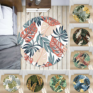 Instagram-Leaves-Non-slip-Round-Soft-Area-Rug-Floor-Carpet-Door-Mat-Home-Decor