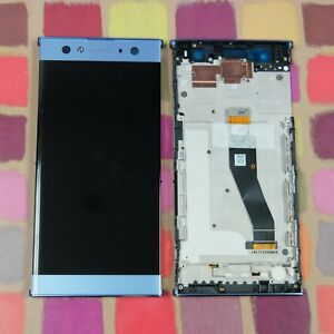 GENUINE-BLUE-SONY-XPERIA-XA2-ULTRA-H4213-FHD-IPS-LCD-SCREEN-DISPLAY-FRAME