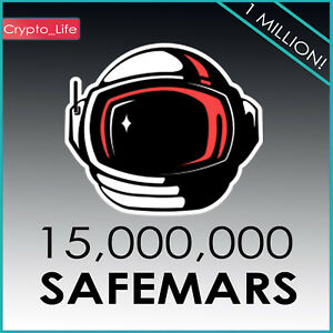 """15 Million """"15,000,000"""" SafeMARS (SAFEMARS) - MINING CONTRACT - Crypto Currency"""