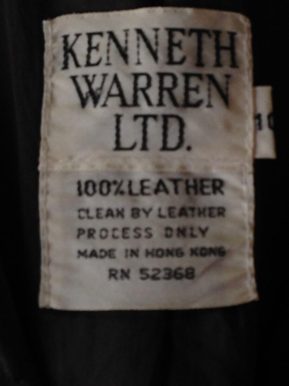 1970S Vintage Women's Dark Brown Leather Blazer J… - image 3