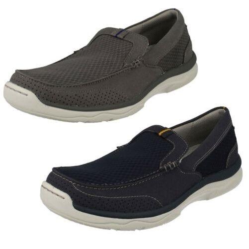3f16f8bd Hombre Zapatos sin Cordones Marus Step Casuales Clarks  nndhhb2082-Zapatillas deportivas